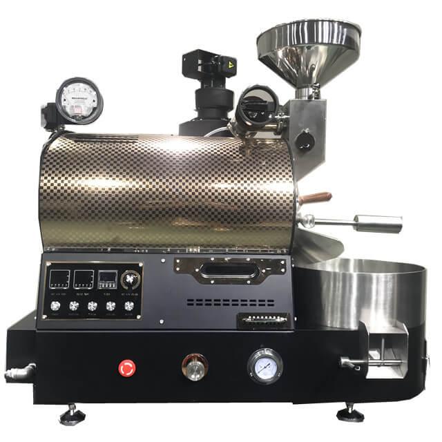 Machines de torréfaction de grain de café de version améliorée de torréfacteur de gaz 2Kg pour le café