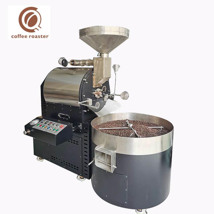 Machine commerciale de torréfaction de grain de cacao de grande capacité de machine de café 15Kg