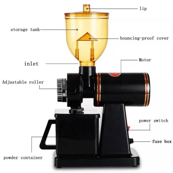 225g coffee grinder coffee bean grinding machine 6