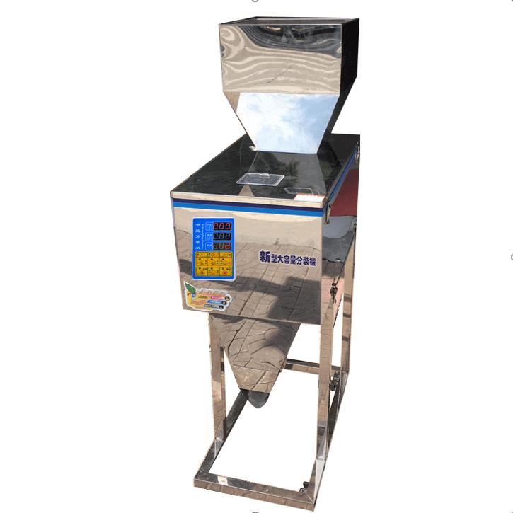 Machine de remplissage de 3 kg Machine de remplissage de pesage de café