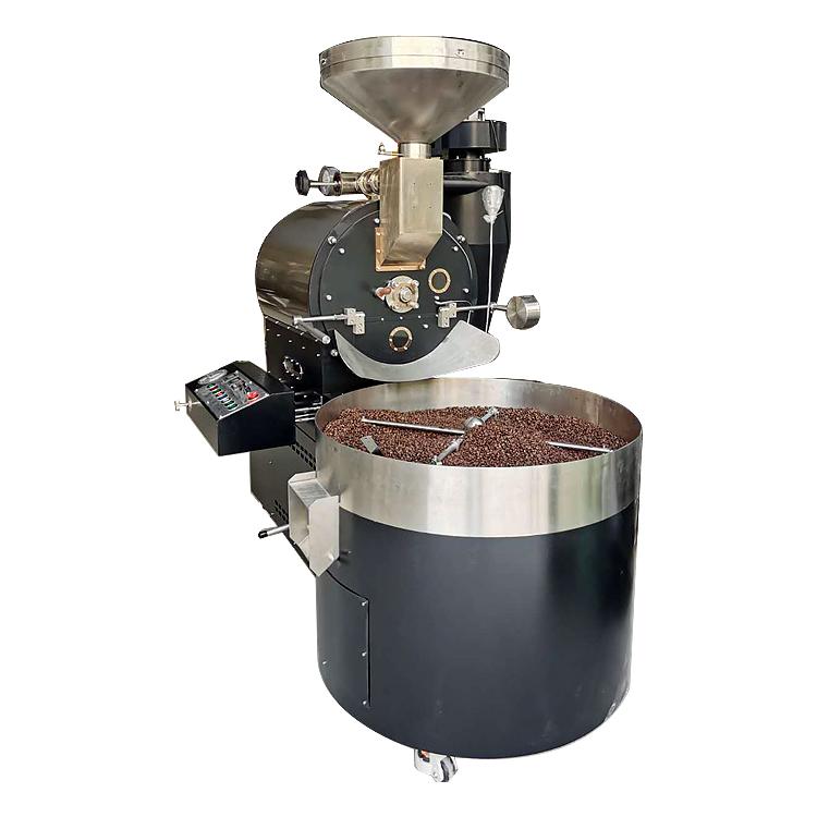 roasting machine coffe 15kg batch gas industry coffee roaster 12