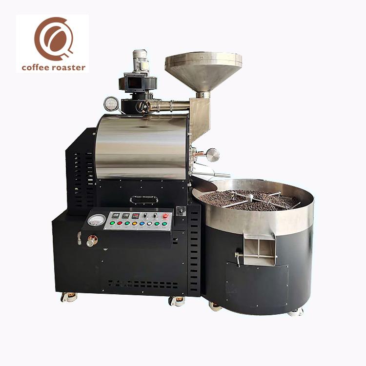 Machine à torréfier le café 15Kg torréfacteur de café de l'industrie du gaz par lots